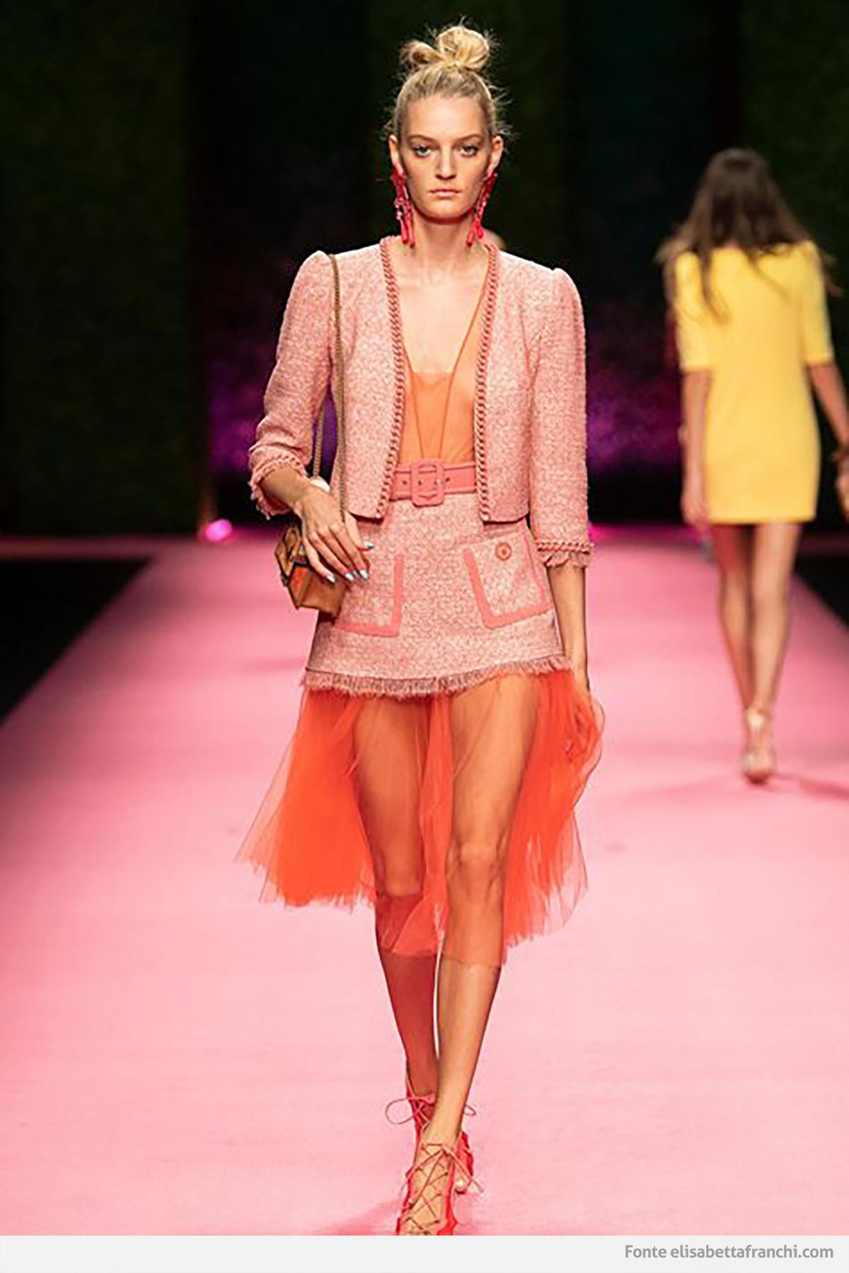 tendenza moda living coral