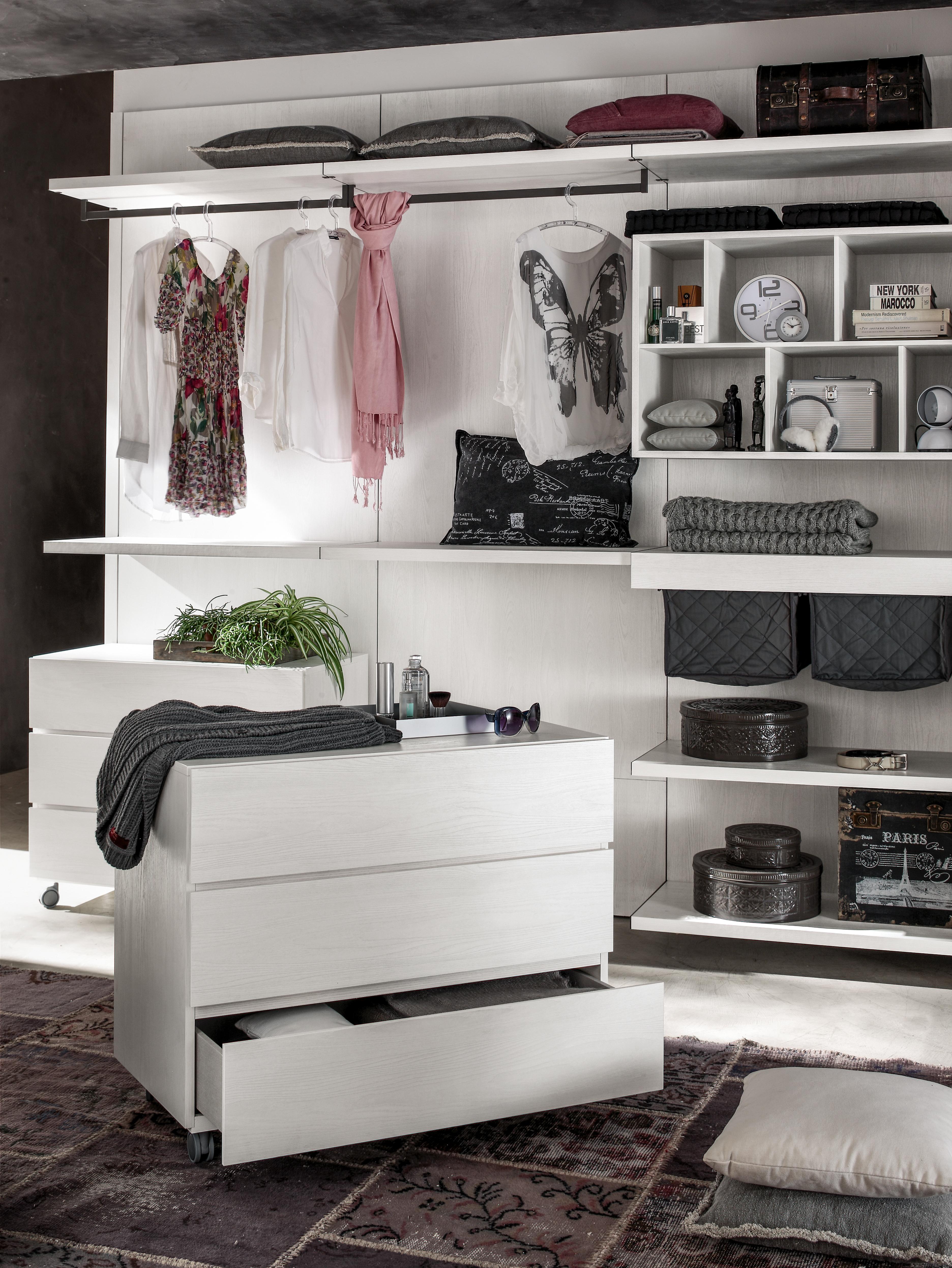 3 idee per progettare la cabina armadio con K-Obi